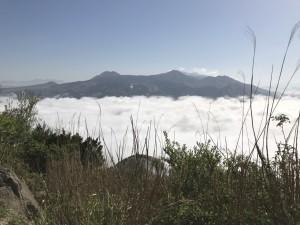 雲海 俵山